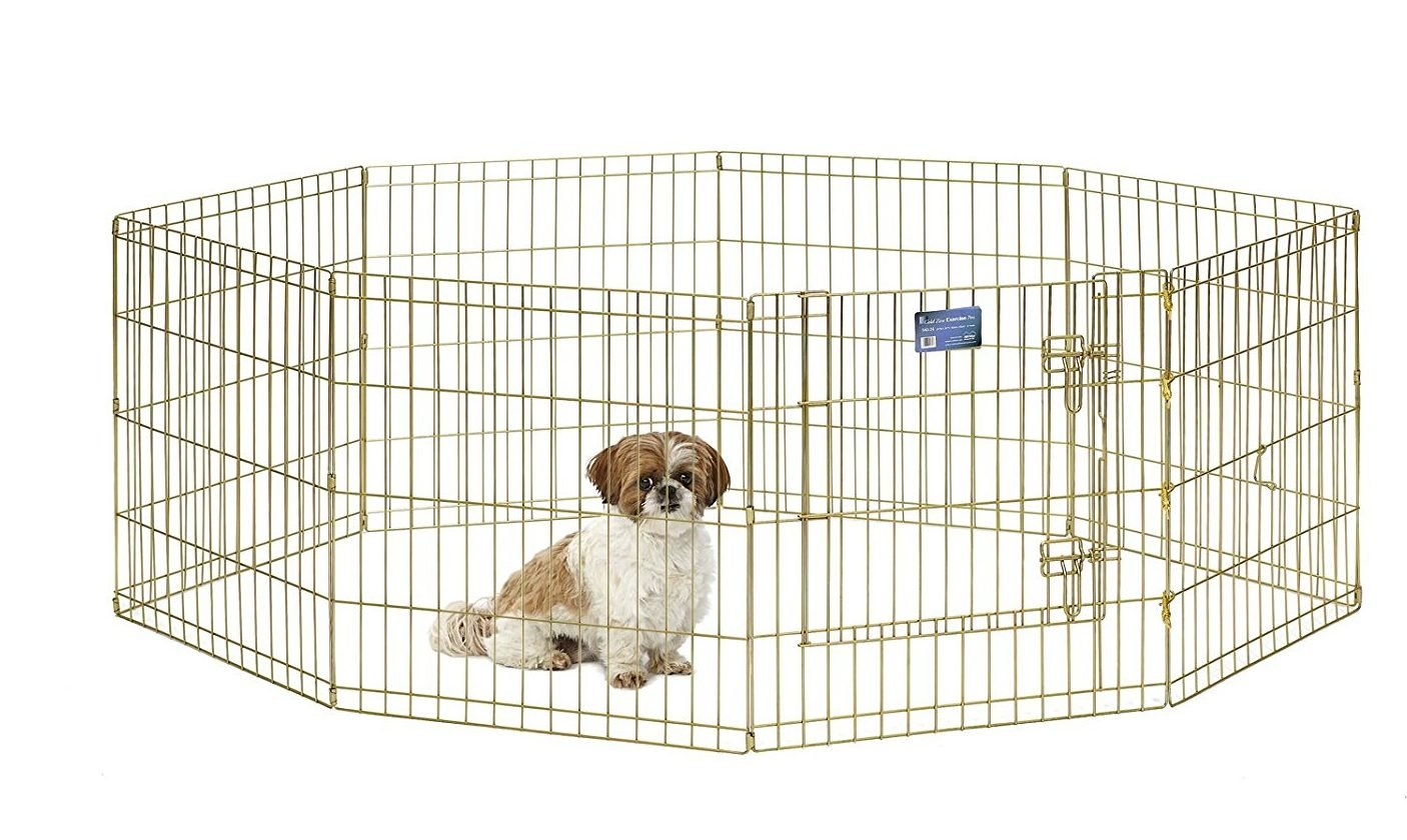 indoor dog pen