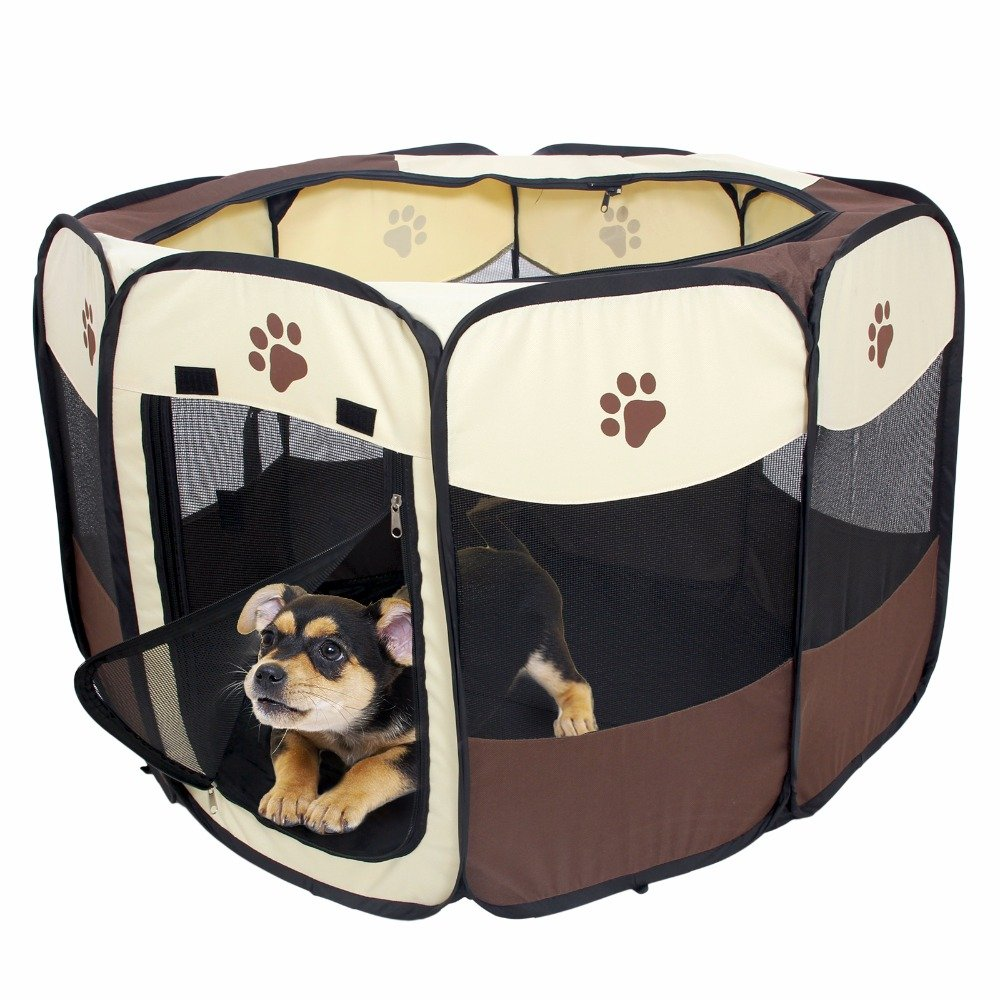 portable dog playpen