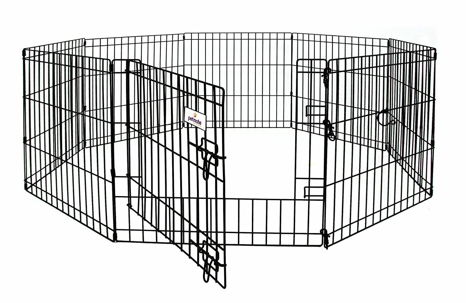large dog pen